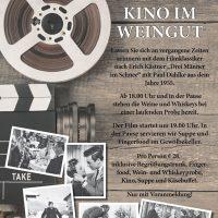 Kino im Weingut
