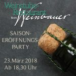 Saison Eröffnungsparty Beim Weinbauer 2018