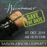 Saisonabschluss im Weinbauer