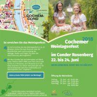 Weinlagenfest Cochem 2018