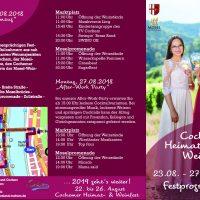 Weinfest Cochem 2018